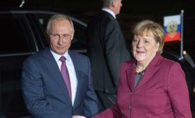 Эксперт предположил, какие темы обсудят Путин и Меркель