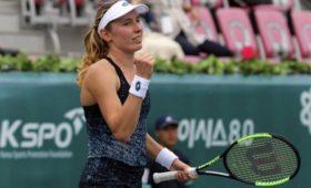 Российская теннисистка Александрова впервые вкарьере выиграла турнир WTA