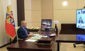 Путин выступит с обращением на совещании по коронавирусу