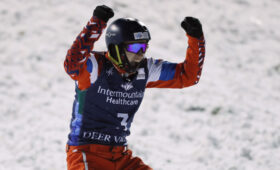 Фристайлист из России Максим Буров стал двукратным чемпионом мира