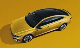 Volkswagen Lamando второй генерации снова показался на фото: теперь с безрамочными дверями