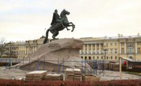 В Петербурге к 350-летию Петра Первого отреставрируют Медного всадника